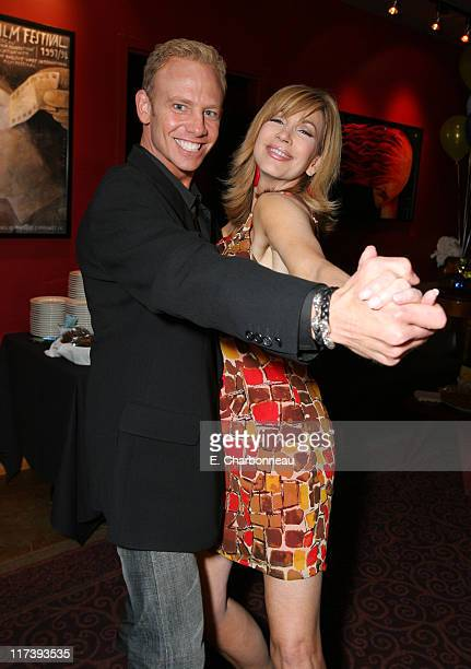 Ian Ziering and Leeza Gibbons *Exclusive Coverage*