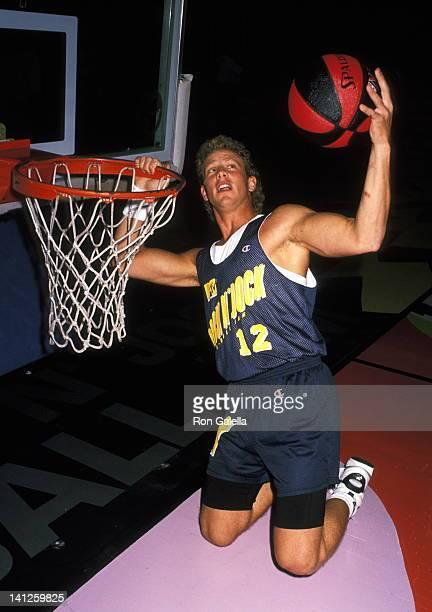 Ian Ziering at the MTV Rock N' Jock Basketball Jam Benefit Pauley Pavilion at UCLA Westwood