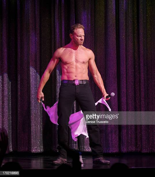 Ian Ziering debuts in Chippendales at the Rio AllSuite Hotel and Casino on June 8 2013 in Las Vegas Nevada