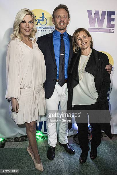 Ian Ziering Gabrielle Carteris and Tori Spelling attend the WETv 'Pet Project' To Raise Awareness For Canine Companions For Independence at...