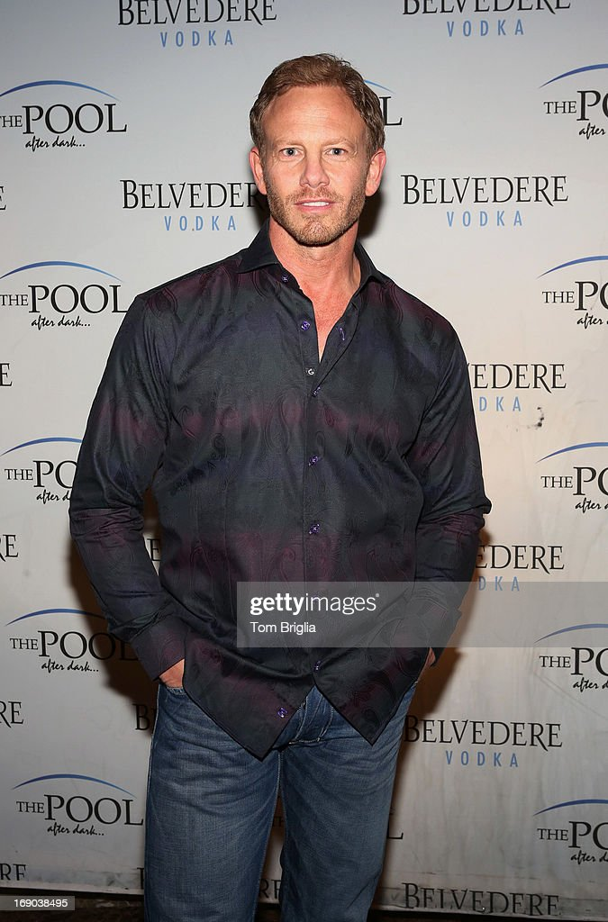 Ian Ziering hosts The Pool After Dark at Harrah's Resort on Saturday May 18, 2013 in Atlantic City, New Jersey.