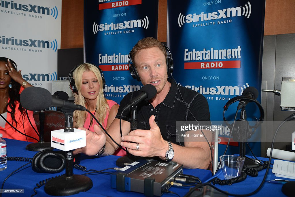 Ian Ziering is interviewed on SiriusXM's Entertainment Weekly Radio channel from Comic-Con 2014 at The Hard Rock Hotel on July 25, 2014 in San Diego, California.