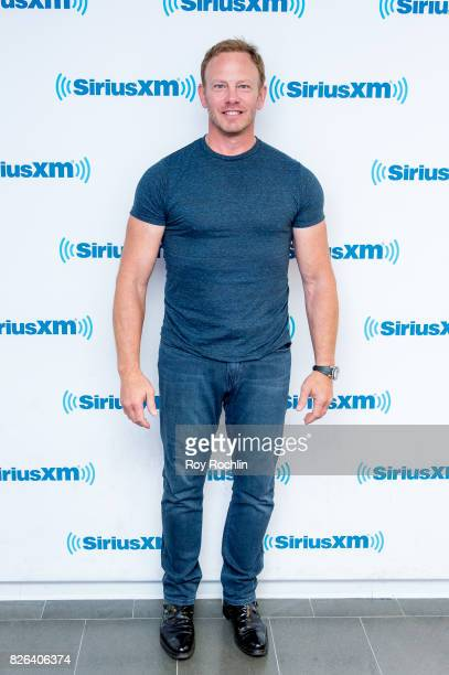 Ian Ziering visits Sirius XM at SiriusXM Studios on August 4 2017 in New York City