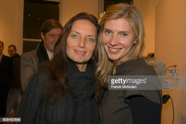 Iana Balan and Natalia Langhorne attend Alexandre Charriol Sculpture Opening at the Leila TaghiniaMilani Heller Gallery at Leila TaghiniaMilani...
