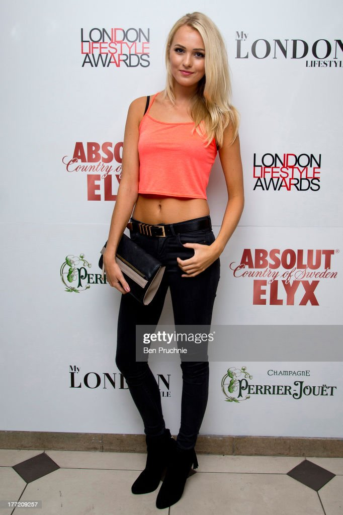 Ianthe Rose Cochrane attends the London Lifestyle Awards shortlist reception at Retro Feasts on August 22 2013 in London England