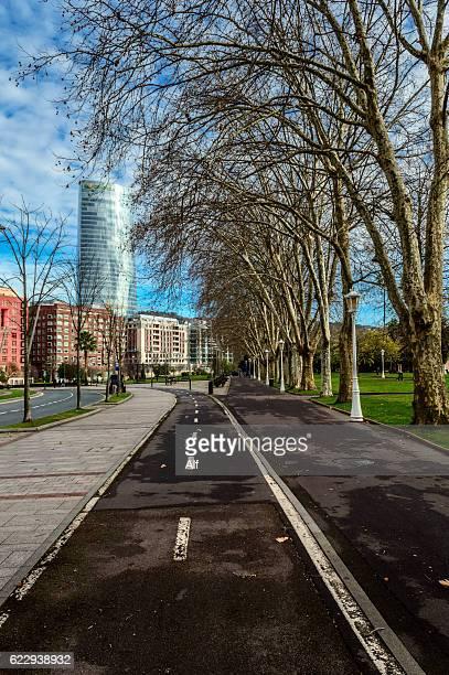 Iberdrola tower in Bilbao, Spain
