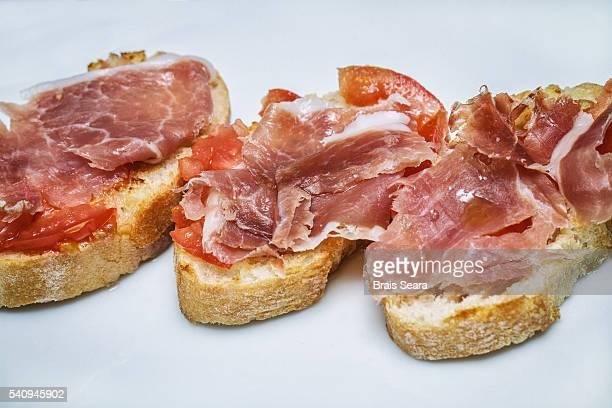 Iberian Ham with Tomato