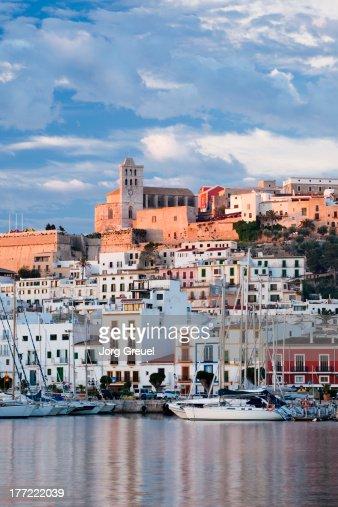 Ibiza Town at sunrise