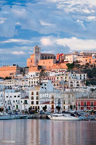 Ibiza Town at sunrise