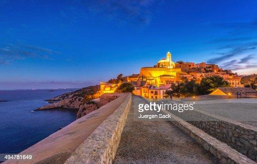 Ibiza - Way into Dalt Vila