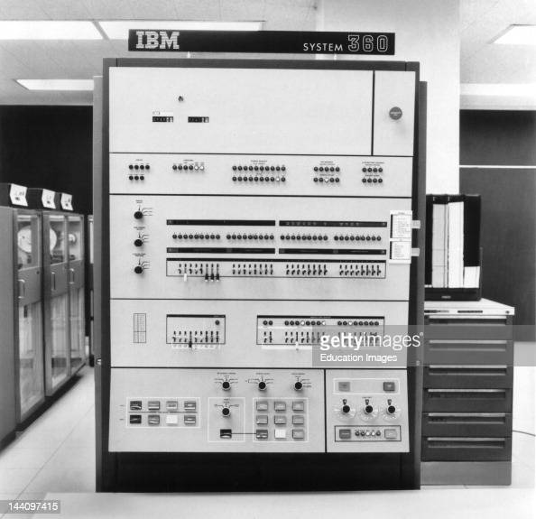 Ibm 360 Mainframe Computer