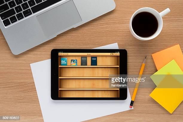 iBooks on Apple iPad