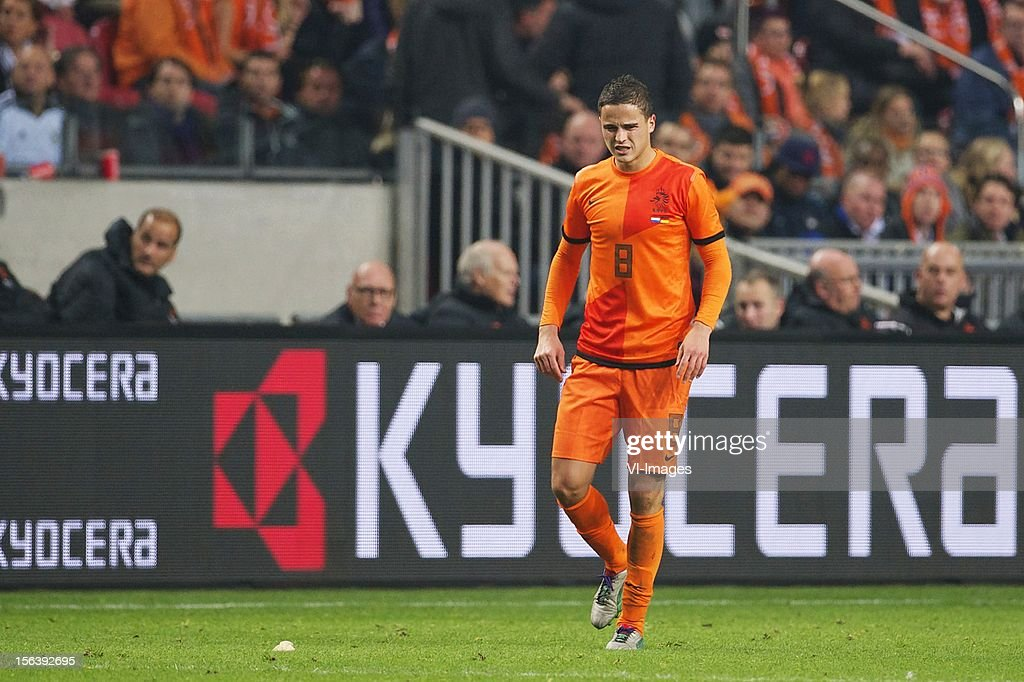 Ibrahim Afellay of Holland during the Friendly match between Holland and Germany at the Amsterdam Arena on November 14, 2012 in Amsterdam, The Netherlands.