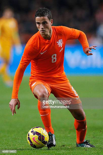 Ibrahim Afellay of Netherlands in action during the international friendly match between Netherlands and Mexico held at the Amsterdam ArenA on...