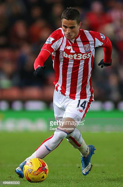 Ibrahim Afellay of Stoke City during the Capital One Cup match between Stoke City and Sheffield Wednesday at the Britannia Stadium on December 1 2015...