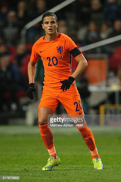 Ibrahim Afellay of the Netherlands in action during the International Friendly match between Netherlands and France at Amsterdam Arena on March 25...