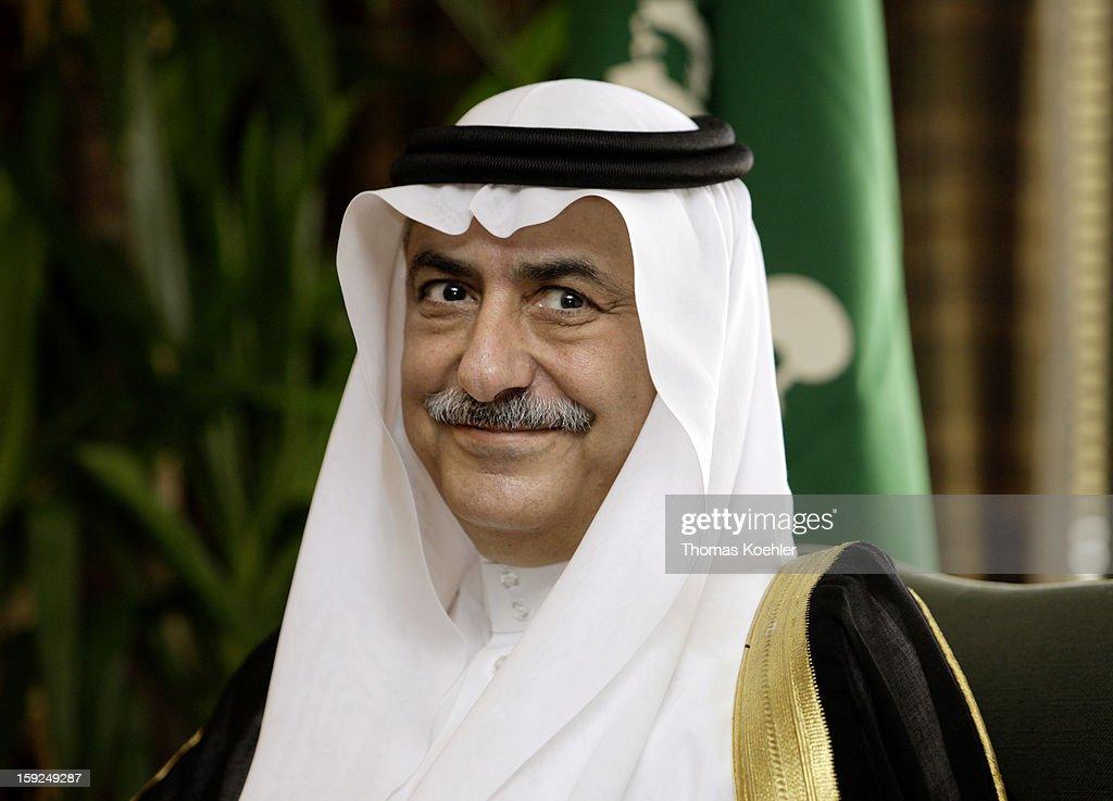 Ibrahim Al Assaf, Minister of Finance of Saudi Arabia, October 29, 2008 in Riyadh, Saudi Arabia.