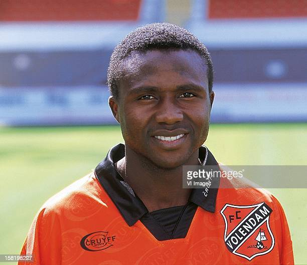 Ibrahim Babangida during the team presentation of FC Volendam in july 1998 in Volendam The Netherlands