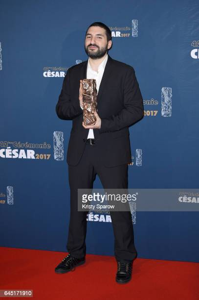 Ibrahim Maalouf attends the Cesar Film Awards 2017 at Salle Pleyel on February 24 2017 in Paris France
