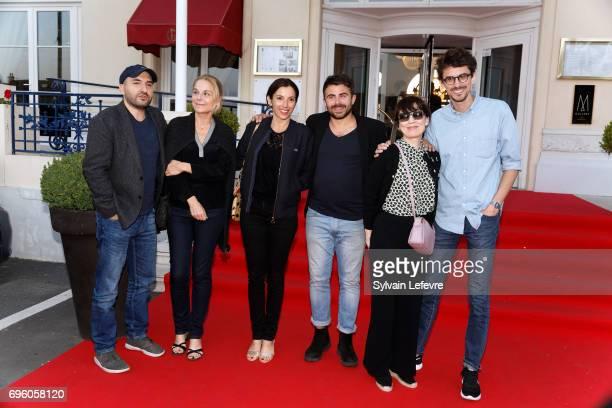 Ibrahim Maalouf Camille Laurens Aure Atika Stephane de Freitas Anne Dorval and Hugo Gelin attend 1st day of 31st Cabourg Film Festival on June 14...