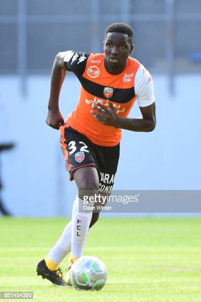 Ibrahim Sory Conte of Lorient during the Ligue 2 match between FC Lorient and Chateauroux at Stade du Moustoir on August 14 2017 in Lorient