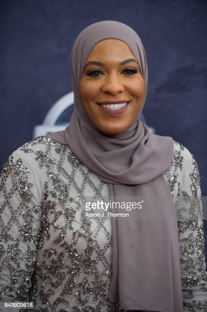 Ibtihaj Muhammad attends Black Girls Rock at New Jersey Performing Arts Center on August 5 2017 in Newark New Jersey