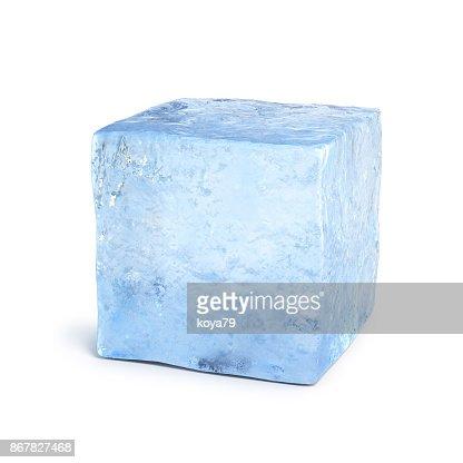 Ice block 3d rendering : Stock Photo