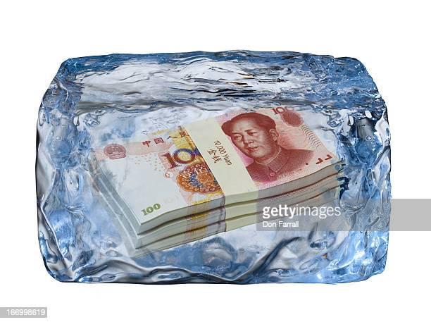 Ice Block, frozen Yuan