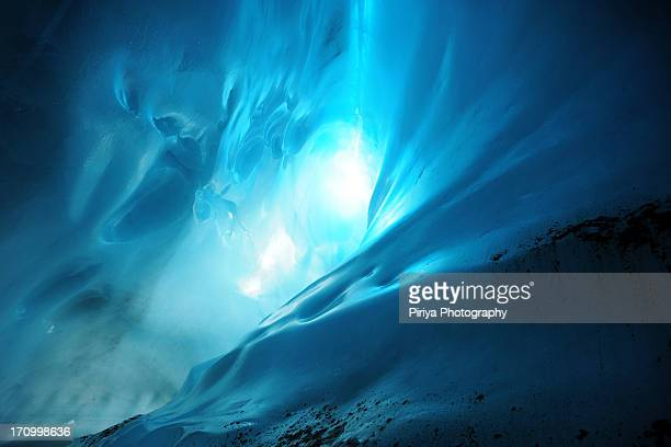 Ice cave lighting