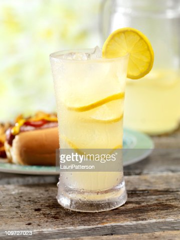 Ice Cold Lemonade and a Hot Dog