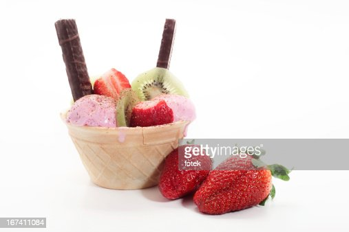 Ice cream cone : Stock-Foto