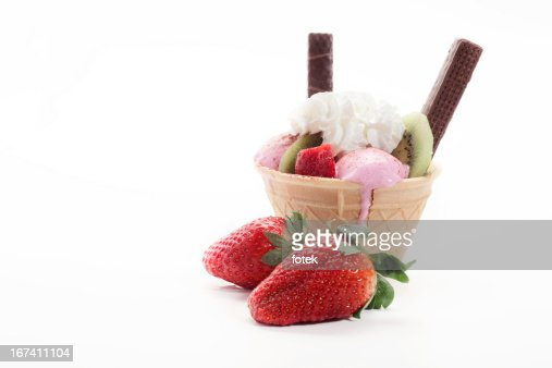 Ice cream cone : Stockfoto