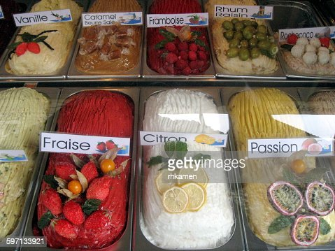 Ice cream, France