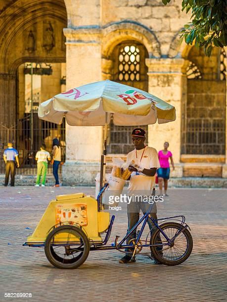 Ice Cream Vendor in Santo Domingo, Dominican Republic