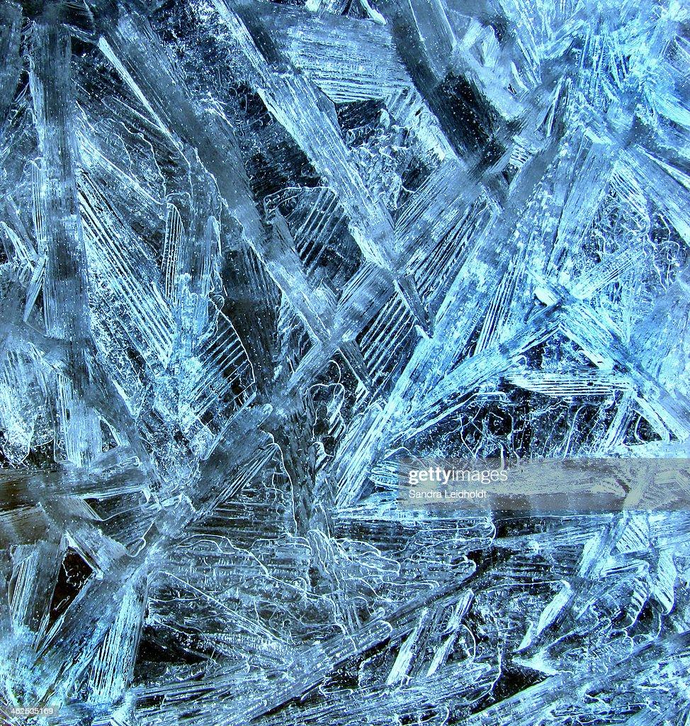Ice Crystals in Colorado
