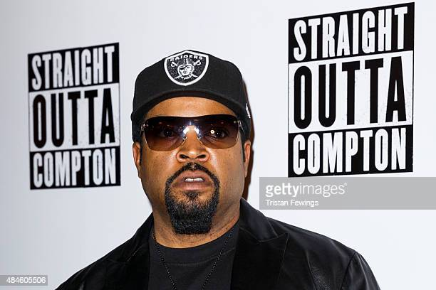 Ice Cube attends a special screening of Straight Outta Compton on August 20 2015 at the Picturehouse Central in London England
