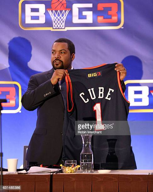 Ice Cube attends BIG3 Press Conference on January 11 2017 in New York City
