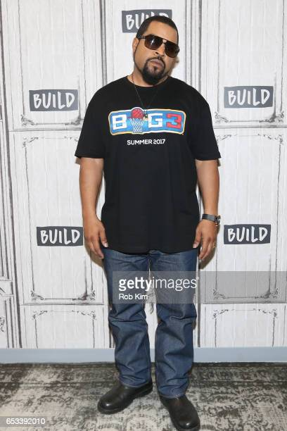 Ice Cube attends the Build Series to discuss 'Hip Hop Squares' at Build Studio on March 14 2017 in New York City