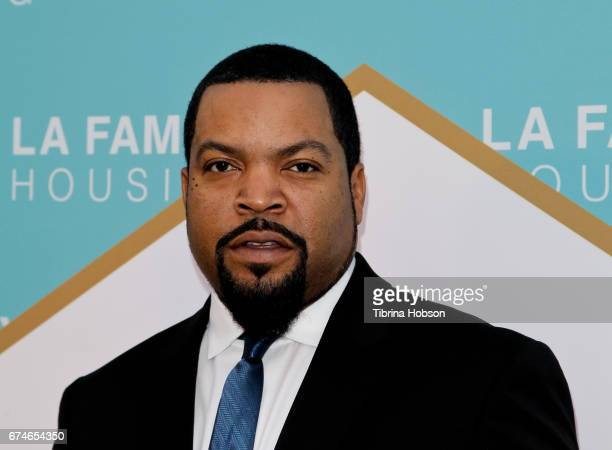 Ice Cube attends the LA Family Housing 2017 Awards at The Lot on April 27 2017 in West Hollywood California