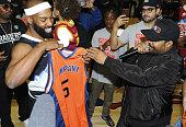 Baron Davis hosts Black Santa Celebrity Basketball...