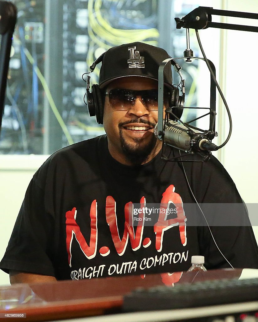 Ice Cube visits SiriusXM Studios on August 4, 2015 in New York City.