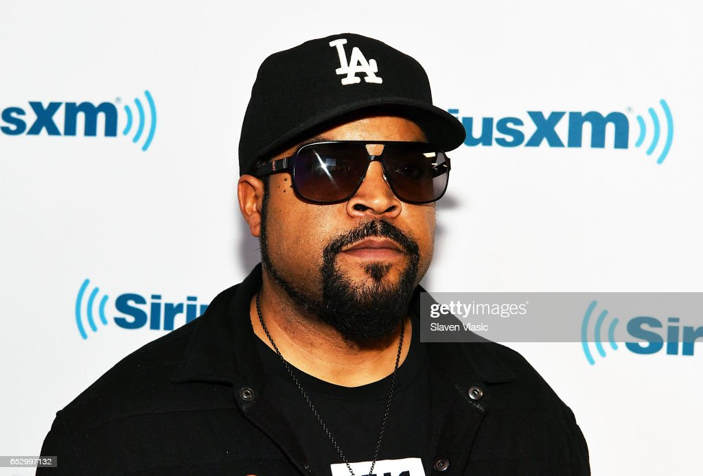Ice Cube visits SiriusXM Studios on March 13, 2017 in New York City.