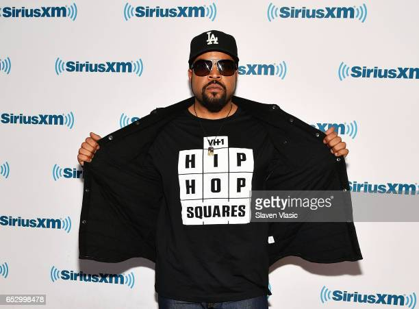 Ice Cube visits SiriusXM Studios on March 13 2017 in New York City