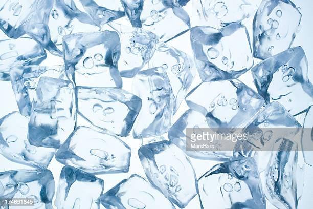 cubes de glace de fond