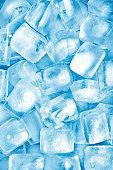 Ice cubes background