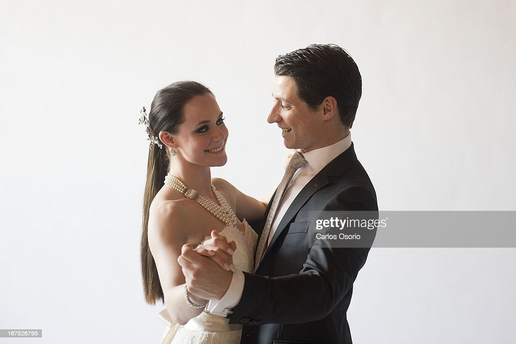 Figure Skaters Tessa Virtue And Scott Moir