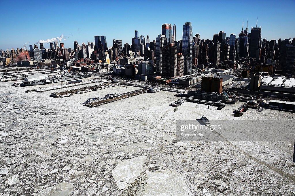 Arctic Cold Weather Chills New York City Getty Images