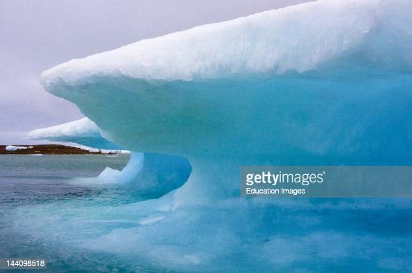 Ice Forming In Resolute Bay Nunavut Arctic Canada