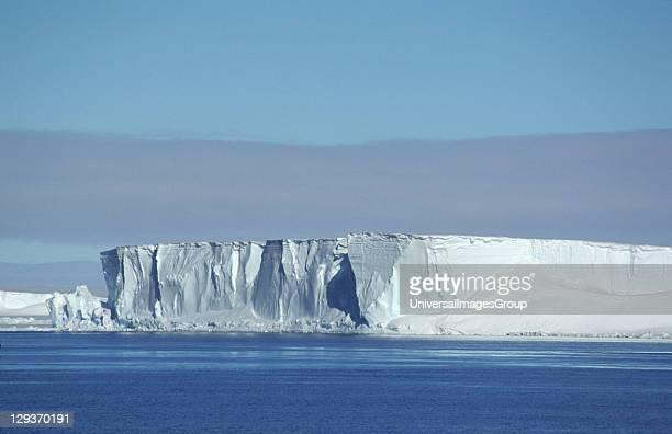 Ice headlands of Brunt Ice Shelf