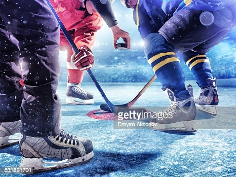 Ice Hockey game start